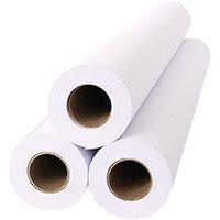 Inkjet Plotter Roll 914mm x 45m 90gsm White Ref 2645C Pack of 6