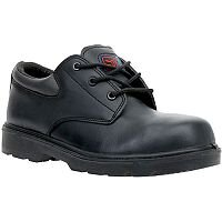 Supertouch Dax Lite Air Composite Shoe Metal Free with Safety Toecap & Midsole Size 3 Black Ref 9086A