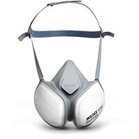 Moldex FFA2P3RD Half Mask with Pleated Filter Technology White Ref M5230