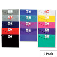 Snopake Polyfile ID Wallet File A4 Clear Pack 5