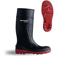 Dunlop Actifort Warwick Safety Wellington Boot Size 10 Black Ref D886410