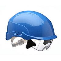 Centurion Spectrum Safety Helmet Blue with Eye Protection Blue Ref CNS20BA