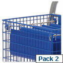 File Runners for MT3 Trolley Silver Pack 2 Versapak