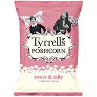 Tyrrells Sweet & Salted Popcorn 80g Ref 701950 Pack of 12
