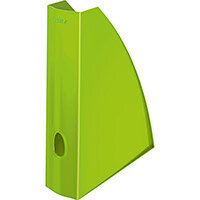 Leitz WOW Magazine File A4 Green Pack of 6 Ref 52771054