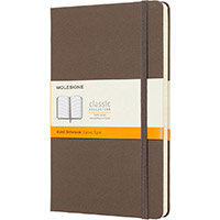 Moleskine Large Ruled Hardcover A5 240Pg Earthbrown Ref QP060P14