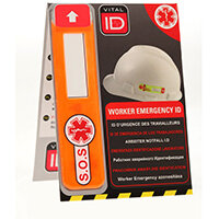 Vitalid Emergency ID Data Window Global Ref WSID02G