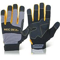 Mecdex Work Passion Impact Mechanics Glove M Ref MECDY-713M