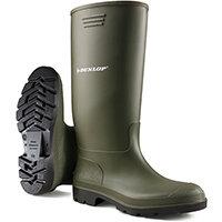 Dunlop Pricemastor Wellington Boot Size 10.5 Green Ref BBG10.5