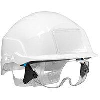 Centurion Spectrum Safety Helmet Blue with Eye Protection White Ref CNS20WA