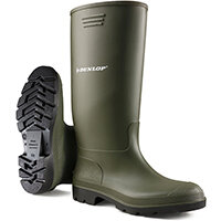 Dunlop Pricemastor Wellington Boot Size 11 Green Ref BBG11