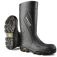 Dunlop Purofort Plus Expander Safety Boot Size 12 Charcoal Ref CC22A3312