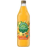 Robinsons Creation Squash No Added Sugar 1 Litre Orange & Mango Ref 962001 Pack of 12