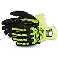 Superior Glove Tenactiv Cut-Resistant Anti-Impact Hi-Vis 09 Yellow SUSHVPNFBVB09