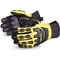 Superior Glove Clutch Gear Impact Protection Mechanics M Yellow Ref SUMXVSBFLM