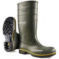 Dunlop Acifort Wellington Boots Heavy Duty Size 10 Green Ref B44063110