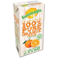 Sunmagic 1 Litre Pure Orange Juice Drink Pack of 12
