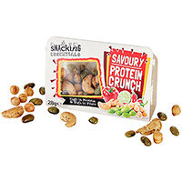 Snacking Essentials Savoury Protein Crunch Snack Pot 28g Ref 512528 (Pack 9)