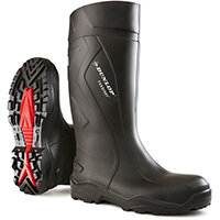 Dunlop Purofort Plus Safety Wellington Boot Size 10 Black Ref C76204110