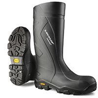 Dunlop Purofort Plus Expander Safety Boot Size 14 Charcoal Ref CC22A3314