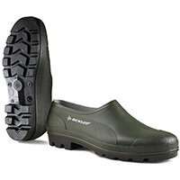 Dunlop Wellie Shoe Size 4 Green Ref GG04