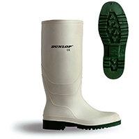Dunlop Pricemastor Wellington Boot Size 5 White Ref BBW05
