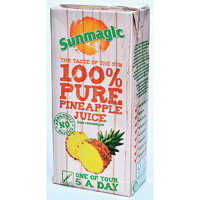 Sunmagic 1 Litre Pineapple Juice Drink Pack of 12