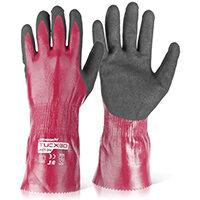 Wonder Grip WG-728L Dexcut Fully Coated Glove XL Grey Ref WG728LXL