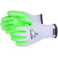 Superior Glove Dexterity 10-G Hi-Vis Latex Palm Size 7 Green Ref SUS10LXPB07