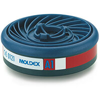Moldex A1 7000/9000 Particulate Filter EasyLock System Blue Ref M9100 Pack of 5