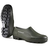 Dunlop Wellie Shoe Size 6 Green Ref GG06