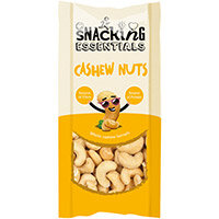 Snacking Essentials Cashew Nut Shot Packs 40g Ref 106140 Pack of 16
