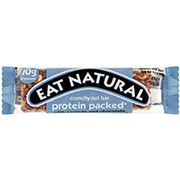 Eat Natural Crunchy Nut Bar Peanuts & Chocolate 45g Ref PRO Pack of 12