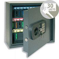 Helix High Security Bolt Locking Key Safe Cabinet 30 Key Capacity