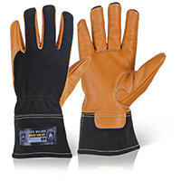 Mecdex Flux Welder Mechanics Glove S Ref MECWD-711S