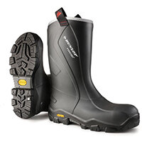 Dunlop Purofort Plus Reliance Safety Boot Size 8 Charcoal Ref CC22A33CH08