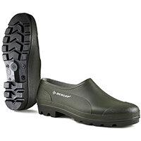 Dunlop Wellie Shoe Size 7 Green Ref GG07