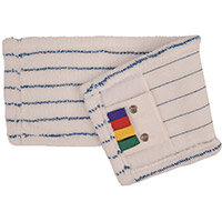 Robert Scott and Sons Economy Microfibre Damp Flat Mop Pads Pack of 10
