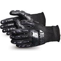 Superior Glove Emerald CX Impact/Cut-Resist Nylon S/Steel XL Black Ref SUSKBFNTVBXL