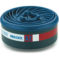 Moldex A2 7000/9000 Particulate Filter EasyLock System Blue Ref M9200 Pack of 4