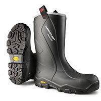 Dunlop Purofort Plus Reliance Safety Boot Size 9 Charcoal Ref CC22A33CH09