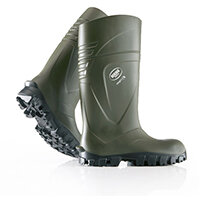 Bekina Steplite X Safety Wellington Boots Size 4 Green Ref BNX2400-918004