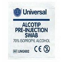 Pre-Injection Prep Pad Swabs Pack of 200 1601010