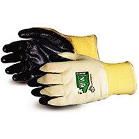 Superior Glove Dexterity 18-G Flame-Resist Arc Flash 9 Black Ref SUS18KGNE09