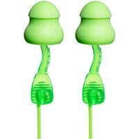 Moldex 6441 Twisters Corded Earplugs Foam Pod Green Ref M6441 [Pack 80]
