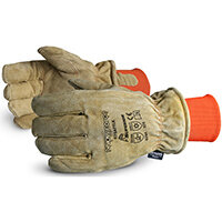 Superior Glove Snowforce Leather Freezer Glove Beige Ref SU678AFTLK