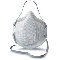 Moldex FFP1 Half Mask with ActivForm Seal White Ref M2360 Pack of 20