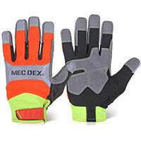 Mecdex Functional Plus Impact Mechanics Glove L Ref MECFS-713L