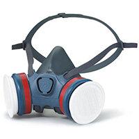 Moldex ABEK1P3 Half Mask Lightweight Medium Grey Ref M7432