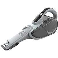 Black and Decker DVJ215J Dustbuster Cordless Hand Vacuum Cyclonic Action 10.8Wh Lithium-Ion Grey